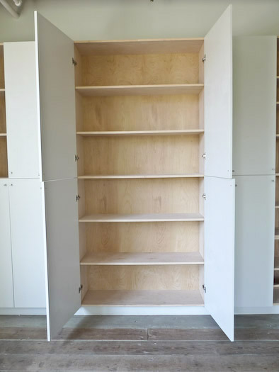 strategy: cool un)plywood storage cabinets - Improvised Life