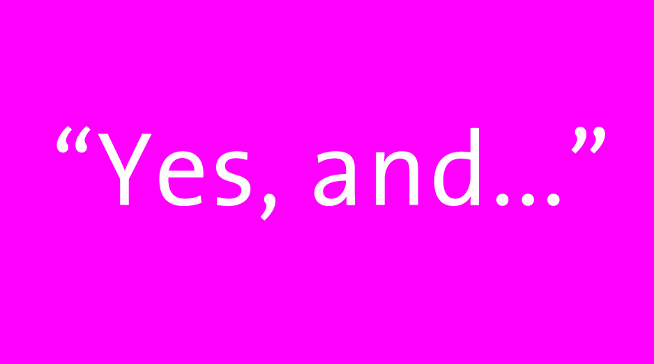 yes, and…pink