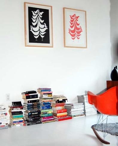 book-stacks-on-floor-design-sponge