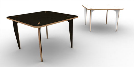 table-from-one-piece-wired