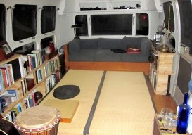 Improvised Airstream Interior/Dennison Lee