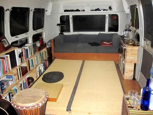 Improvised Airstream Interior/Dennison Lee