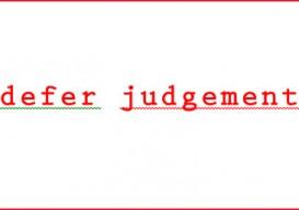 defer-judgement