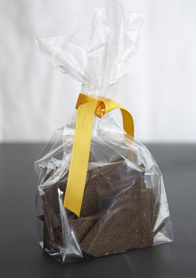 homemade chocolate, food gifts