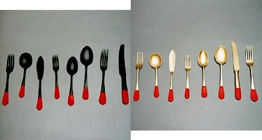 Pascal Anson plasti dip cutlery