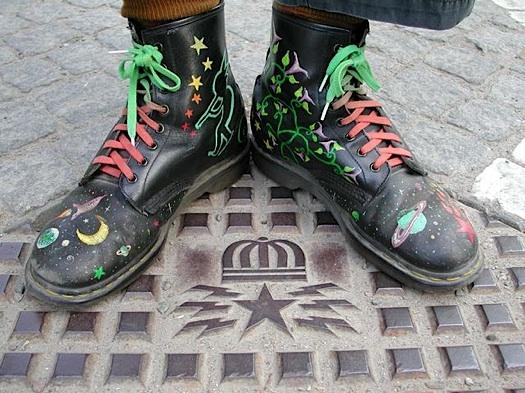 Johnny Shoepainter via Flickr*