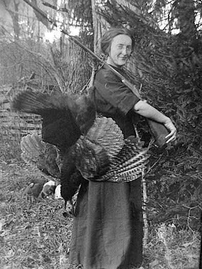 woman-w-turkey