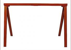 red-sawhorse