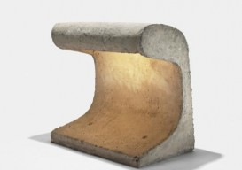 Le Corbusier concrete light