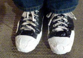 duct tape converse