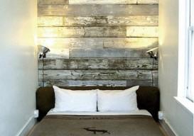 Salvaged Wood:headboard