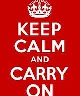 keep calm +