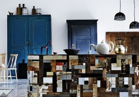 patchwork kitchen island