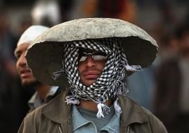 Improvised helmet 2