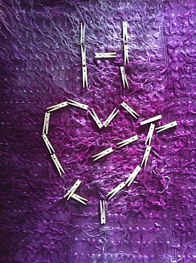 Maria's Valentine with Clothes Pins