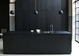 black kitchen:remodlsta