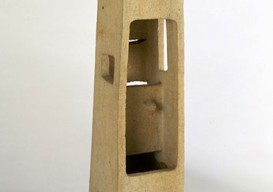 Noguchi's Lonely Tower 1952