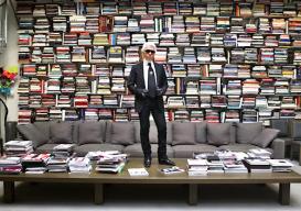 Karl Lagerfeld's lib