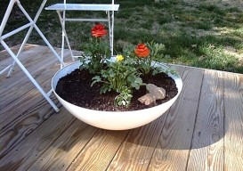 ikea flower pot hack