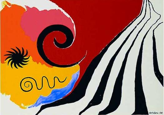 Alexander Calder Pinwheel and Flow