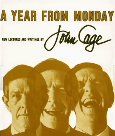 John Cage A Year from Monday Cover