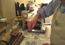 josh eisen's improvised kitchen
