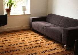 Dominic Wilcox's Welcoming Welcome Mat Room