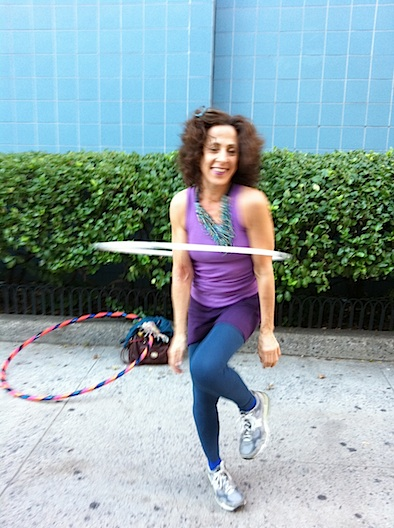Suzy Hoops hoola hooping nyc