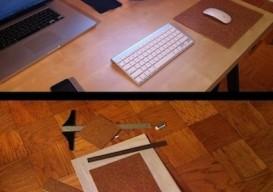 Tara Mann's cork mousepad