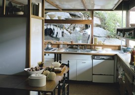 Rusell Wright kitchen at Manitoga