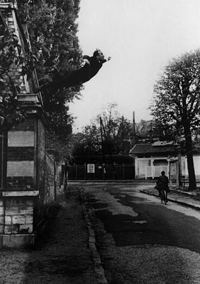 Yves Klein- Leap into the Void '60