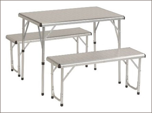 Coleman PackAway aluminum picnic camping table