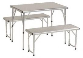 Coleman PackAway aluminum camping picnic table