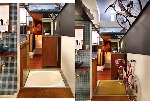 182 sq ft Seattle apt Steve Sauer