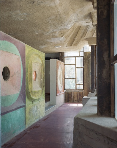 Paolo Soleri Chalky Walls Artists Handmade Houses