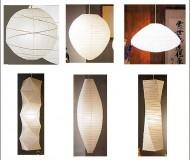 Noguchi-esque paper lanterns