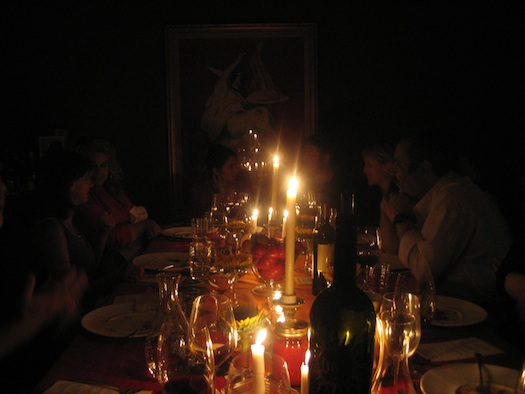 Anthony Giglio's dinner party