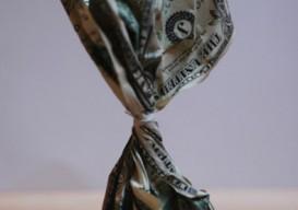 Holton Rower money sculpture