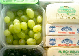 """freezing grapes for wine """"ice cubes"""""""