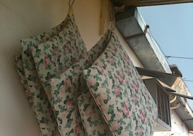 hanging terrace pillows