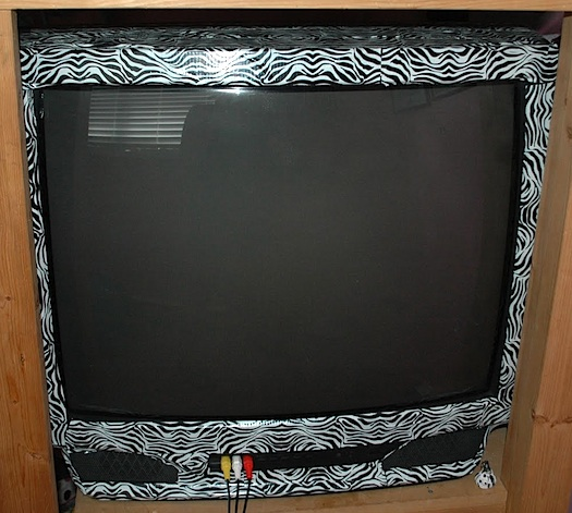 zebra duct tape tv