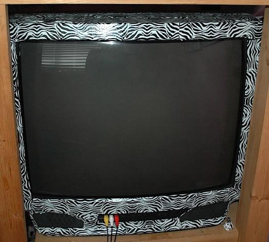 zebra duct tape tv