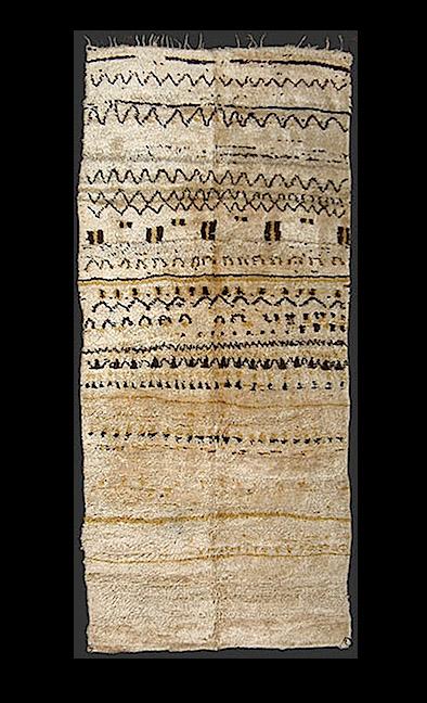 "Berber ""broken"" geometry  rug design"