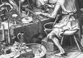 The Alchemist by Peter Breugel the Elder