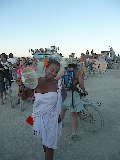 Burning Man Kim Sykes