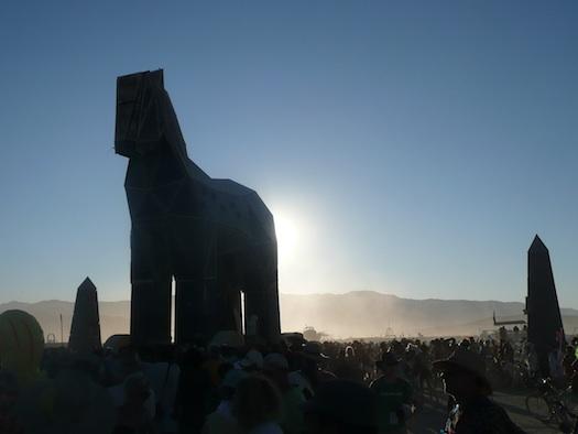 Burning Man Trojan horse 2