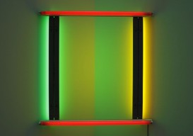 Dan Flavin 1970 untitled (to Bob and Pat Rohm)
