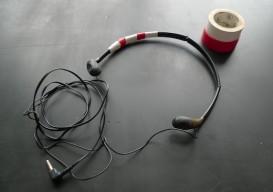 repaired headphones