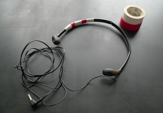 repaired headphones