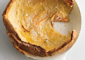 Dutch Baby skillet popover with Lemon Sugar
